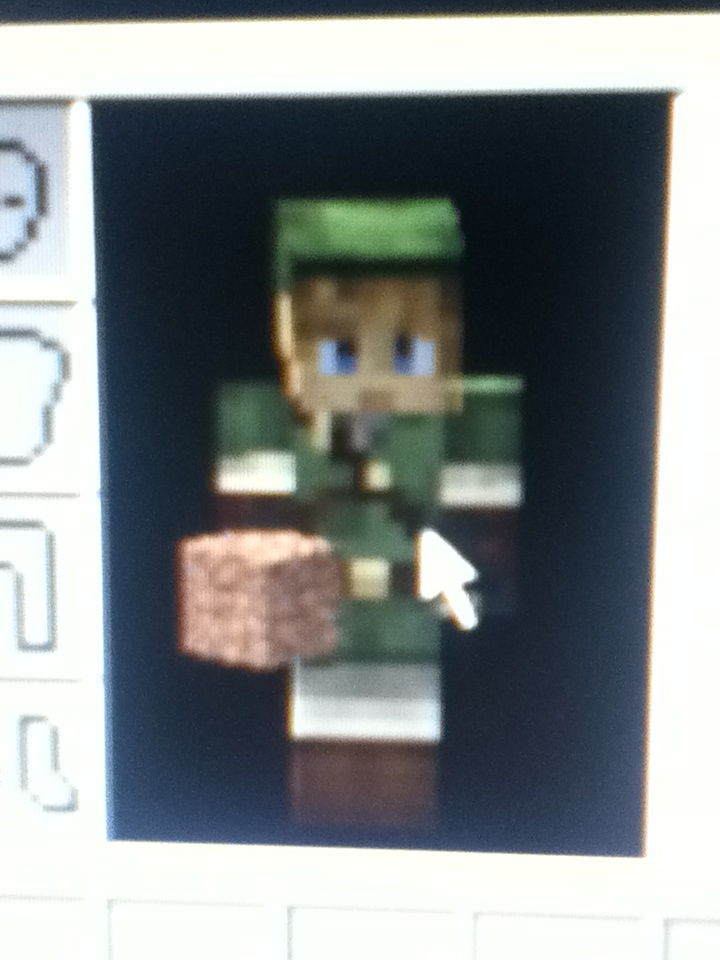 My Link Minecraft Skin By ZeldaHylia On DeviantArt - Skins para minecraft zelda