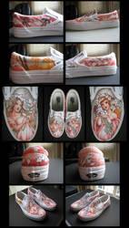 mucha shoes by briannacherrygarcia