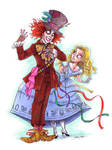 burton's alice and hatter