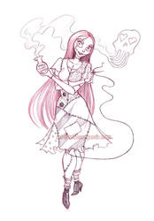 sally sketch by briannacherrygarcia