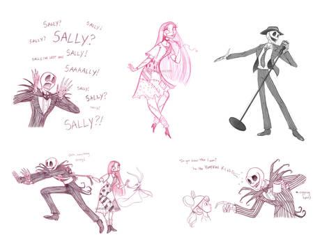 jack and sally sketchdump