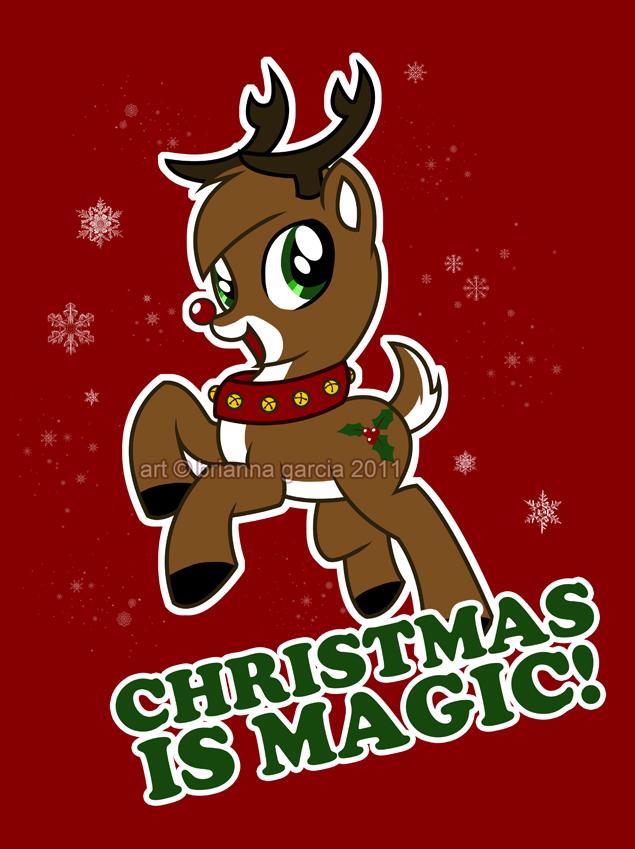 my little reindeer by briannacherrygarcia