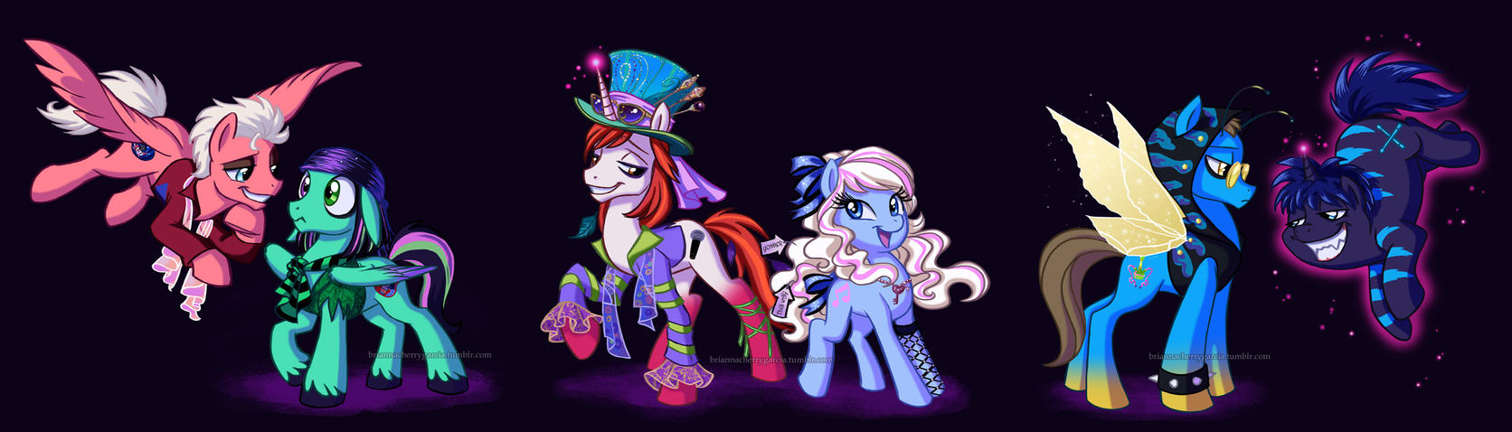 Mad T Ponies by briannacherrygarcia