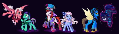 Mad T Ponies by briannacherrygarcia