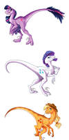My Little Raptor by briannacherrygarcia