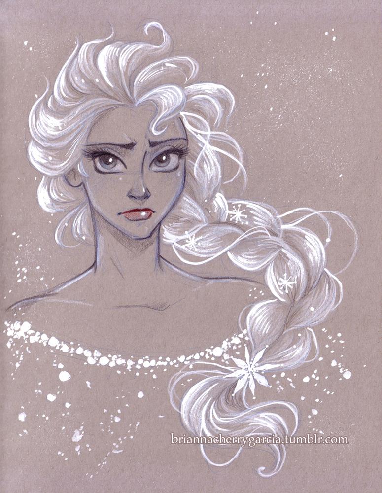 Frozen (2013 film) - Elsa Fan Art