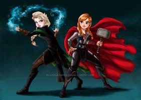 Thunder and Frost by briannacherrygarcia