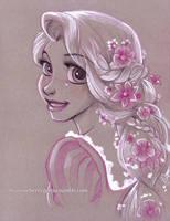 Rapunzel by briannacherrygarcia