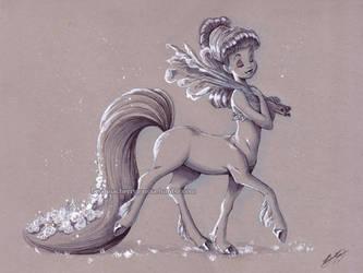 Centaurette by briannacherrygarcia