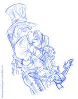 Hattice Hug by briannacherrygarcia