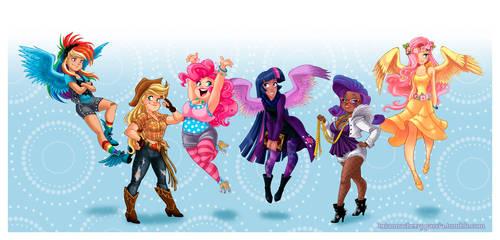 Equestria Girls by briannacherrygarcia