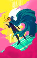 Loki of Asgard by briannacherrygarcia
