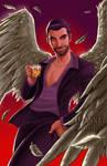 Lucifer Morningstar by briannacherrygarcia