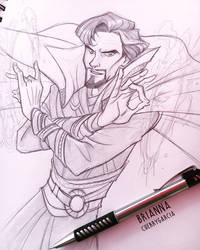 Doctor Strange by briannacherrygarcia