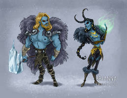 Jotun Brothers by briannacherrygarcia