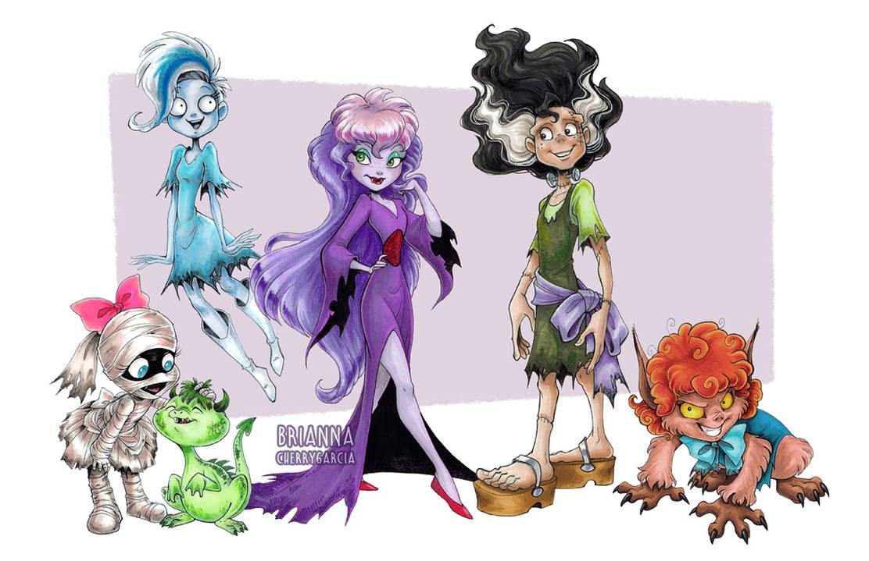 Grimwood Girls by briannacherrygarcia