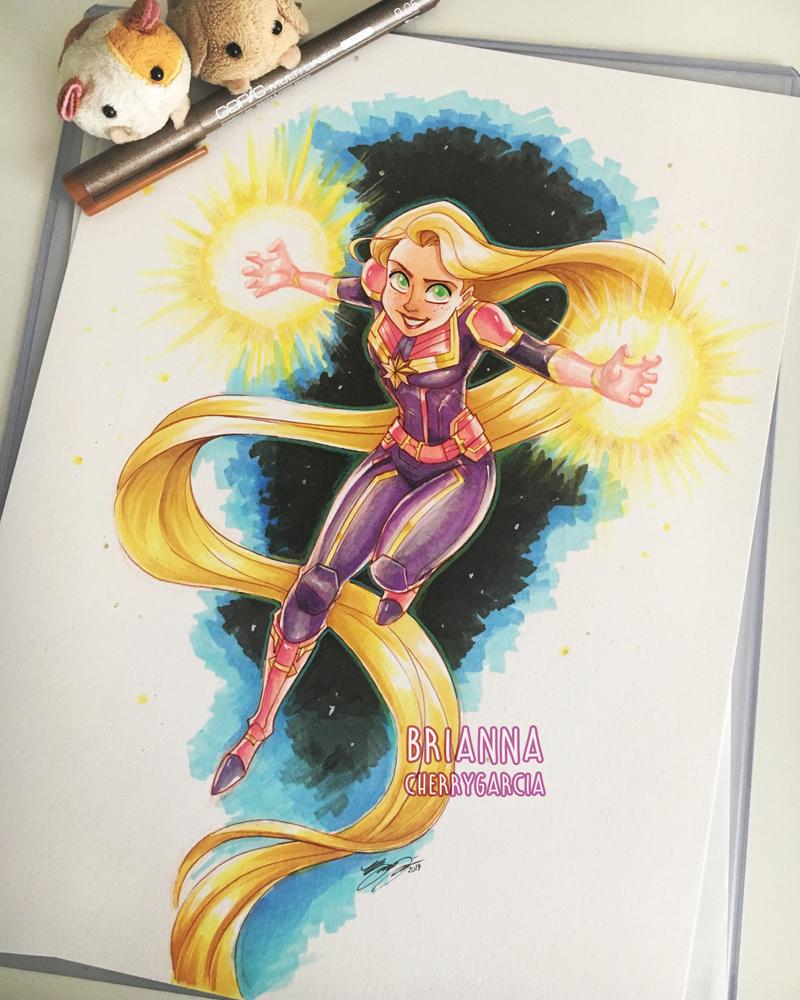 Power Gleam and Glow by briannacherrygarcia
