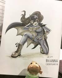 Batgirl by briannacherrygarcia