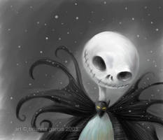 skellington by briannacherrygarcia