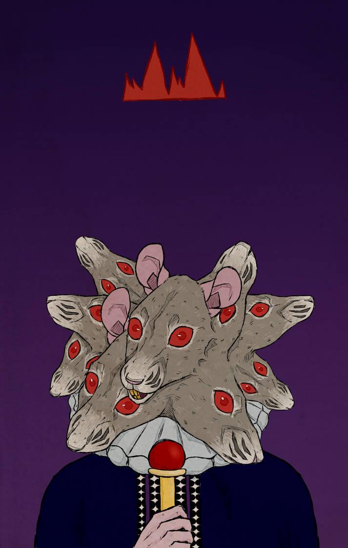 rat king by coyoteskulls