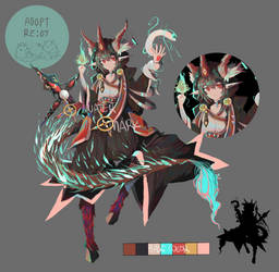 Closed Adopt re#7 The Baphomet by simpleantony