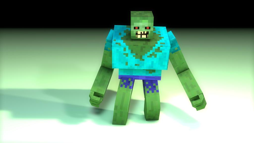 Minecraft Mutant Zombie Toys