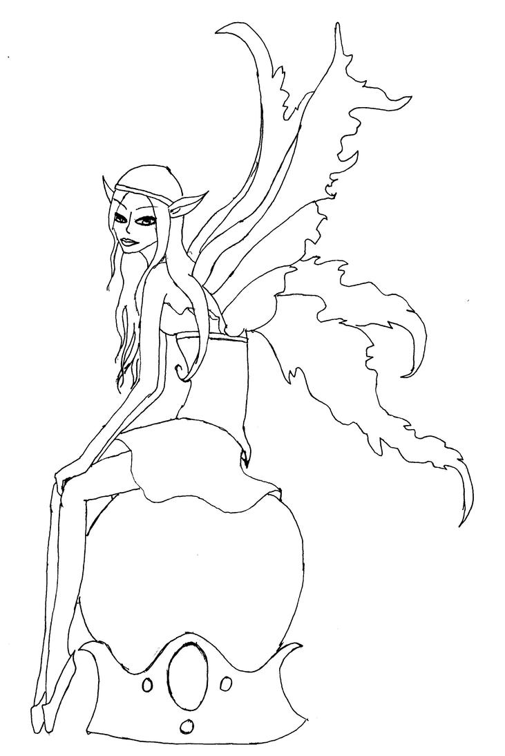 amy brown coloring pages free - photo#23