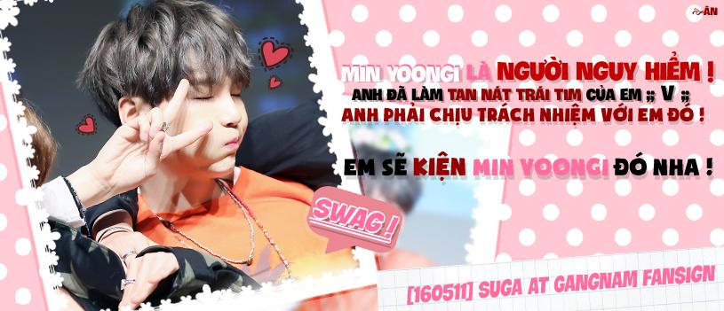Min Yoongi ! You broken my heart ! by Thienan-chan