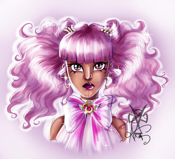...Sailor Chibi Moon... by Ax25