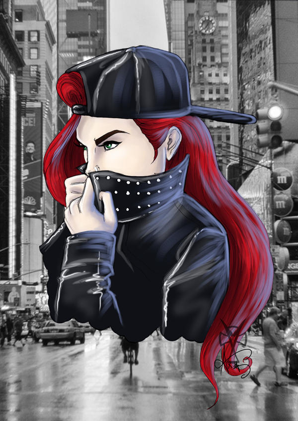 ...New York Girl... by Ax25