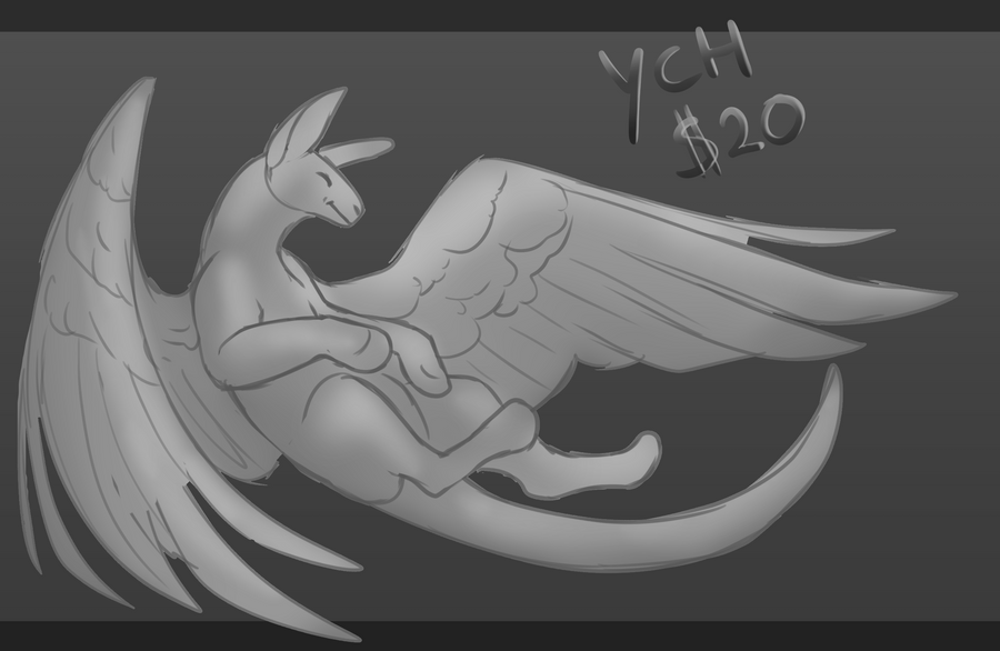 YCH - Feathered CLOSED by iMonox