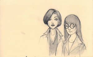 Daria and Jane by Modelbob7