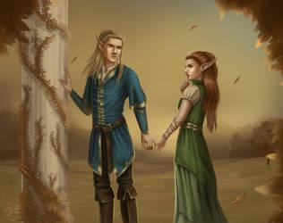 Elves by RedBeatha