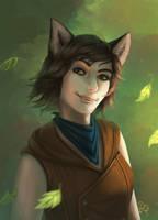 Fox Tale by RedBeatha