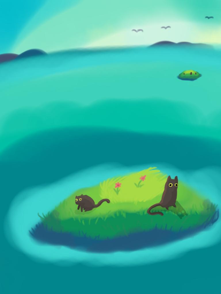 Cat island  by Thatdude450AU