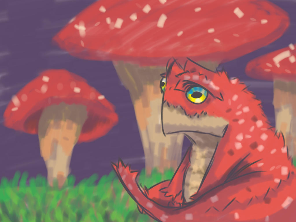 What a fungi by Thatdude450AU