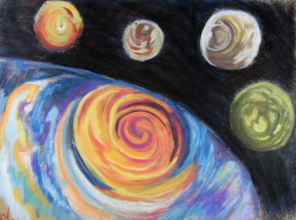 Jupiter done by LadyKylin
