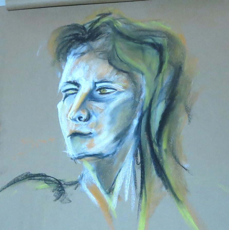 20 min portraite by LadyKylin