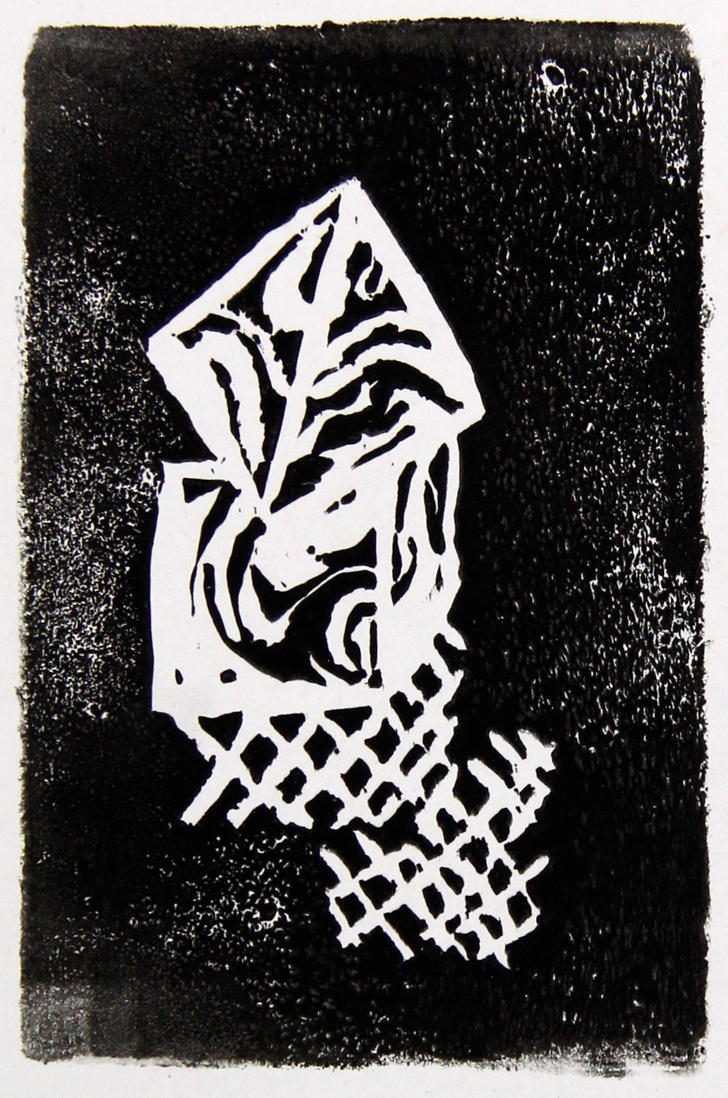 Dice print by LadyKylin