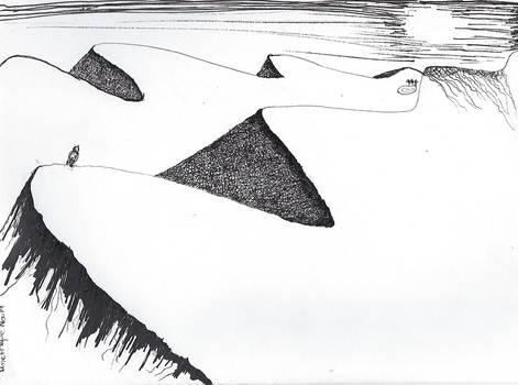 Inktober Dune + hope