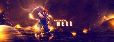 Akuma's Hell by Tyrell-ACE
