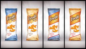 Fredo snacks Packaging