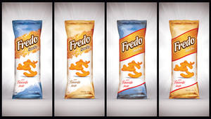 Fredo snacks Packaging by Viboo