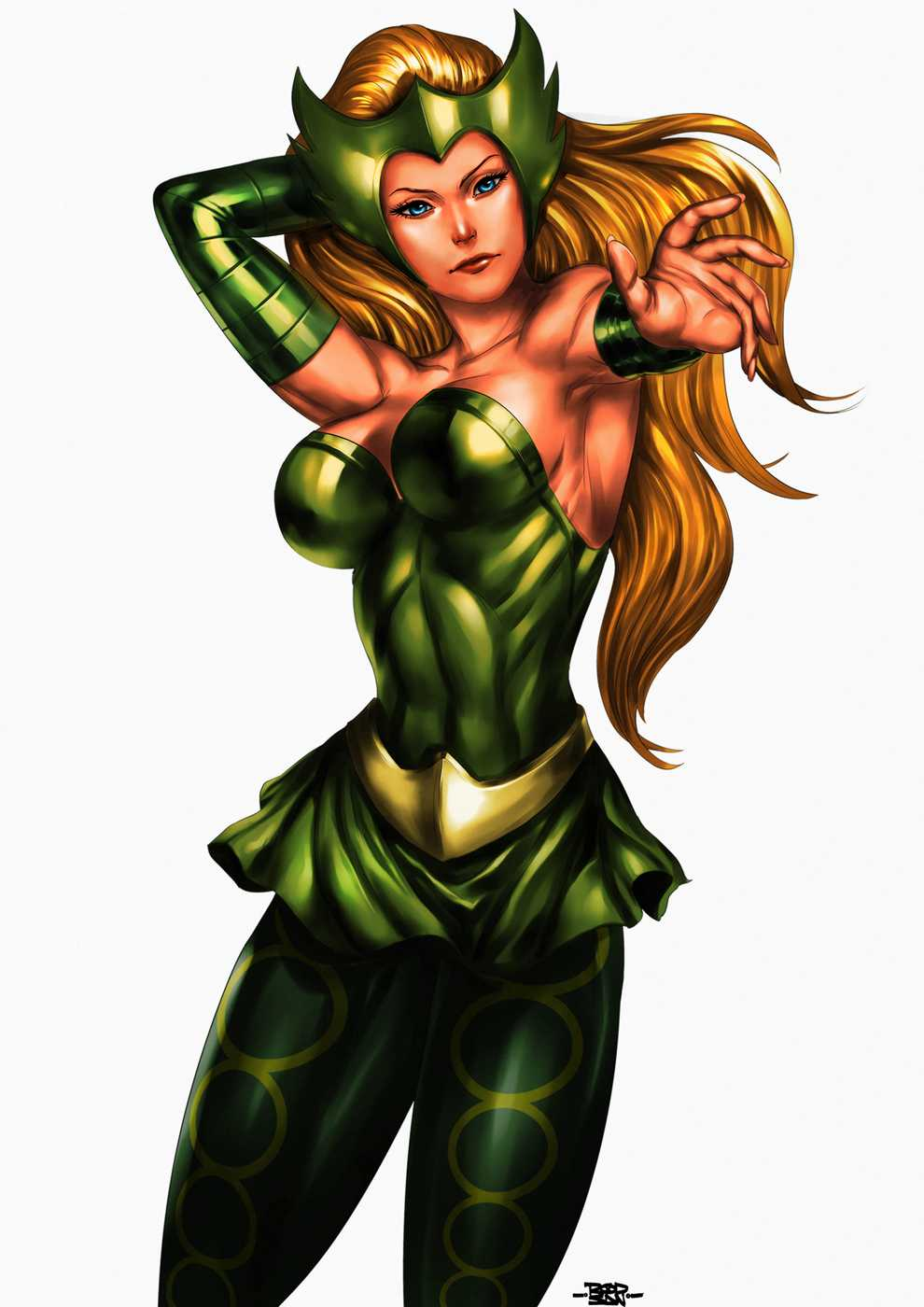 updated marvels enchantress by - photo #9