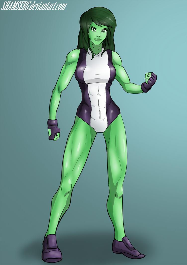 She-hulk by shamserg by cerebus873