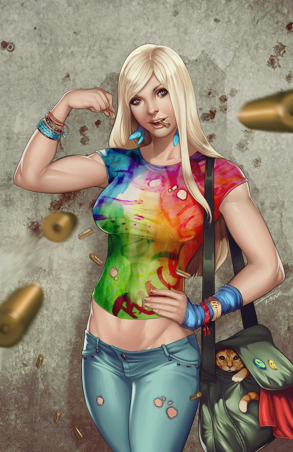 Supergirl by torqueartstudio