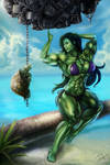 She-Hulk by m4gx