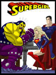 Supergirl Arm Wrasslin By Johnnyharadrim