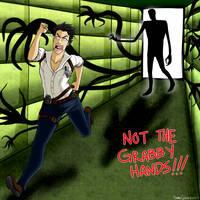 NOT THE GRABBY HANDS