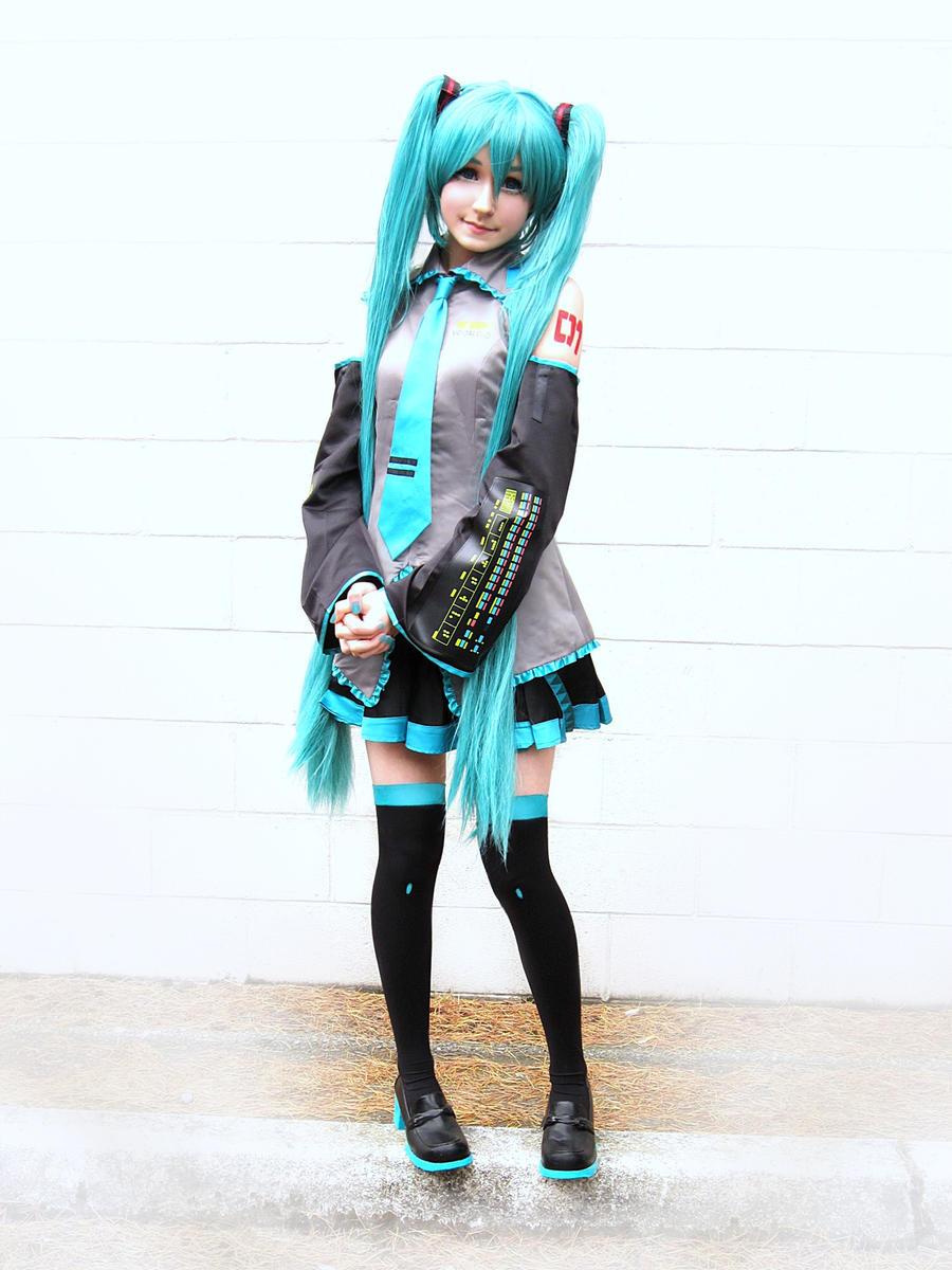 hatsune miku cosplay - photo #31